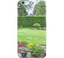 Janet's Garden #4 iPhone Case/Skin