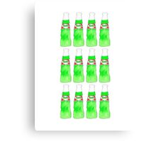 Hara Hara Pakola, Ice Cream Soda Canvas Print