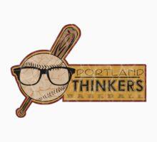 Portland Thinkers Baseball by Ryleh-Mason
