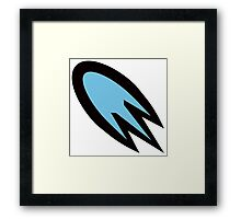 Top Speed Boost Framed Print