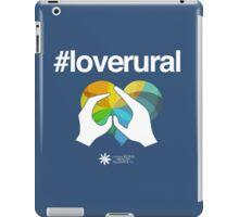 #loverural for dark backgrounds iPad Case/Skin