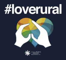 #loverural for dark backgrounds Kids Tee