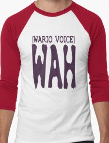 Wario Voice Shirt Men's Baseball ¾ T-Shirt