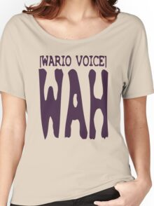 Wario Voice Shirt Women's Relaxed Fit T-Shirt