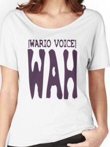 Wario Voice Shirt Women's Relaxed Fit T-Shirt