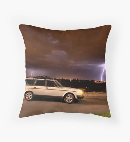 Volvo Lightning Edition Throw Pillow