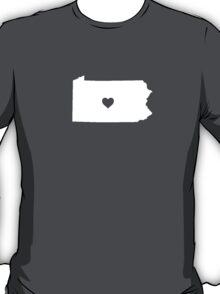 Pennsylvania Heart T-Shirt