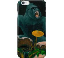 Gorilla Jungle Drums iPhone Case/Skin