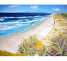 Main Beach Straddie  Photographic Print