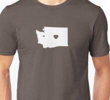 Washington Heart Unisex T-Shirt