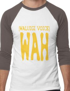 Waluigi Voice Shirt Men's Baseball ¾ T-Shirt