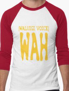 Waluigi Voice Shirt Men's Baseball ¾ T-Shirt