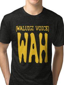 Waluigi Voice Shirt Tri-blend T-Shirt
