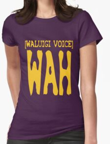 Waluigi Voice Shirt Womens Fitted T-Shirt