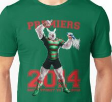'The Mighty Premiers From South Sydney' 2014 Print By Grange Wallis Unisex T-Shirt