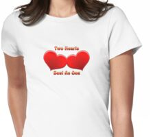 Beat As One - Captioned Womens Fitted T-Shirt