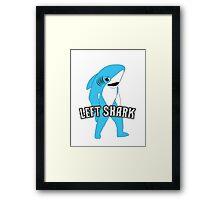 Left Shark  - Super Bowl Halftime Shark 2015 Framed Print