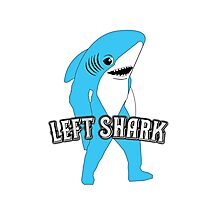 Left Shark  - Super Bowl Halftime Shark 2015 Photographic Print