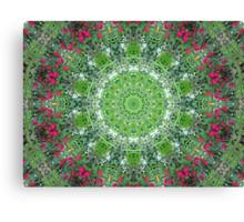 Floral Doily Canvas Print