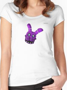 Five Nights at Freddy's - Bonnie- Cartoon Women's Fitted Scoop T-Shirt
