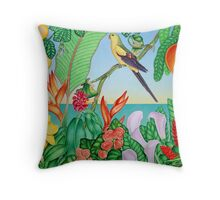 Australian Regent Parrot Throw Pillow