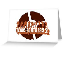 Team Fortress 2 Greeting Card