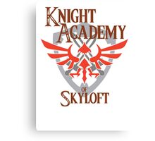 Knight Academy of Skyloft Alternate version Canvas Print