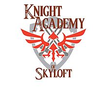 Knight Academy of Skyloft Alternate version Photographic Print