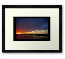 Thursday Morning sunrise Framed Print