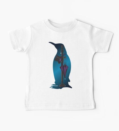 The Penguins Personals (Blue) Baby Tee