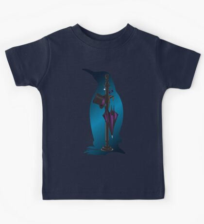 The Penguins Personals (Blue) Kids Tee