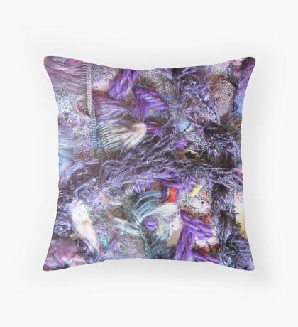 Purple II Throw Pillow