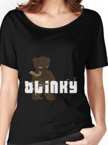 Blinky - Sepia Variant Women's Relaxed Fit T-Shirt