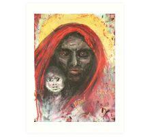 Darfur Madonna and Child Art Print