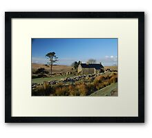 Ditsworthy Warren Farm: Dartmoor Devon Framed Print