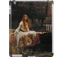The Lady of Shalott iPad Case/Skin