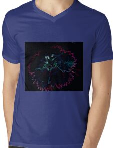 Glowing Dianthus Mens V-Neck T-Shirt
