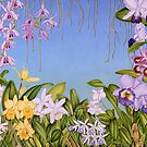 Orchid Garden by joeyartist