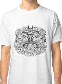 Black White Pattern  Classic T-Shirt