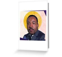 Saint Martin Luther Greeting Card