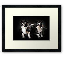 Max and Kiera Framed Print
