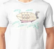 SteamPunkBlimp1 Unisex T-Shirt