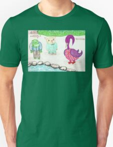 Frog, Hamster, Bird T-Shirt