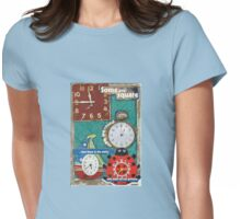 Different Times Womens Fitted T-Shirt