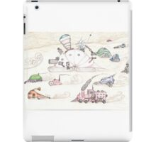 Gnome SteamPunk Caravan iPad Case/Skin
