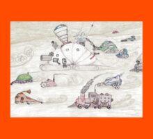 Gnome SteamPunk Caravan Kids Clothes