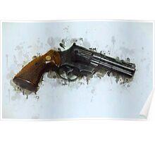 Revolver Drip Poster