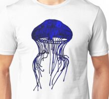 JELLYFISH - BLUE Unisex T-Shirt
