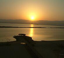 Sunrise Dead Sea by Ilunia Felczer