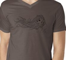 The Raven Haired Girl Mens V-Neck T-Shirt